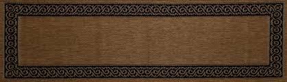 Black And Brown Area Rugs Art Carpet Plymouth Brown Black Indoor Outdoor Area Rug U0026 Reviews