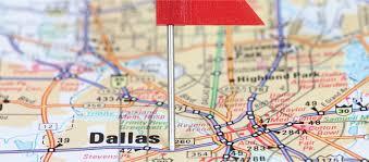 Dallas Area Map by Ryan Palmer Foundation