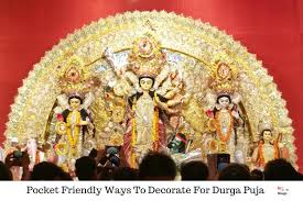 pooja decorations at home pocket friendly ways to decorate for durga puja 1 jpg