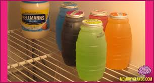huggie drinks huggies juice barrels memory glands nostalgic photos
