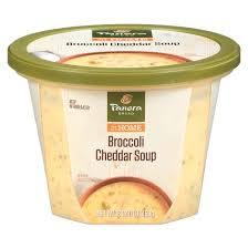 panera bread broccoli cheddar soup 16 oz target