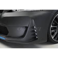lexus ls wald edition wald front bumper spoiler