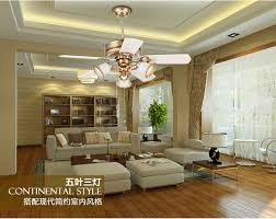Dining Room Ceiling Fans With Lights European Retro Fan Light Ceiling Minimalism Modern Bedroom Dining