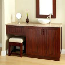 makeup vanity with sink vanity with makeup area bathroom vanity with makeup vanity attached