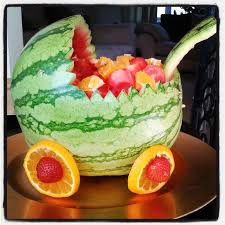Fruit Decoration Ideas For Baby Shower Watermelon Baby Shower Fruit Salad Baby Shower Pinterest