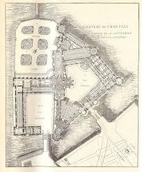 chantilly rez de chaussee ground floor château de