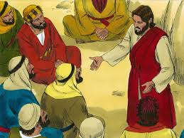 free bible images parables of mustard seed yeast hidden