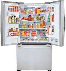 lg lfxc24796s 36 inch counter depth french door refrigerator with