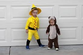 Curious George Halloween Costumes Halloween 2015 Man Yellow Hat U0026 Curious George