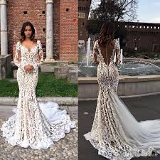 berta wedding dress berta bridal vintage lace garden mermaid wedding dresses 2017 v