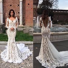 berta bridal berta bridal vintage lace garden mermaid wedding dresses 2017 v