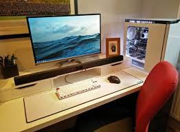 Pc Desk Setup 502 Best Pc Desk Images On Pinterest Desks Gaming Setup And