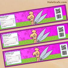 free printable tinkerbell birthday party invitations printable