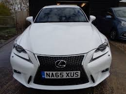 lexus is300h cvt used lexus is 300 saloon 2 5 f sport e cvt 4dr in stowmarket