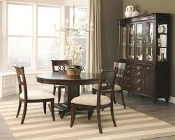 Dining Room Sets Dallas Tx 105440 Alyssa Dining Table In Dark Cognac By Coaster W Options