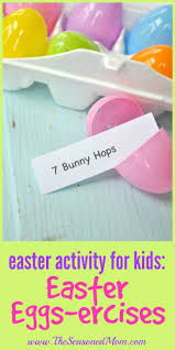 easter activity for kids easter eggs ercises easter activities