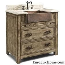 wood country farm vanity farmhouse bathroom vanities and sink