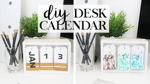 Diy Desk Design by Diy Desk Calendar Get Your Sh T Together 2017 Youtube