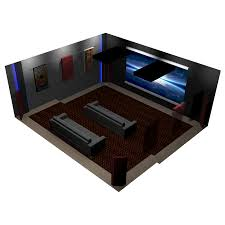 bass traps home theater room package 2 acoustic wall panels