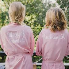 wedding dressing gowns the home of the bridal robe personalised wedding robes