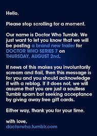 Seeking Series Trailer Doctorwhoproblems Tardis Fandoms And Time