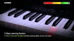 yamaha keyboard lighted keys casio lk 160 key lighting keyboard youtube