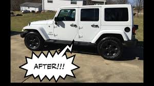 white and black jeep wrangler 2016 jeep wrangler jk plasti dip the wheels literally straight