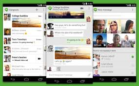 hangouts app for android best 3 text massaging apps for android smartphone and tablet
