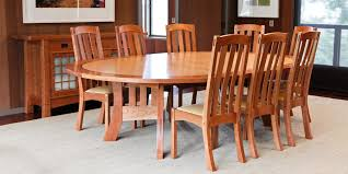 Arts And Crafts Dining Room Furniture by Round Dining Table By Berkeley Mills
