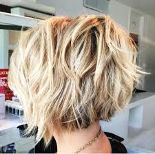 pictures of back of hair short bobs with bangs billedresultat for feathered tousled blonde bob back view hair