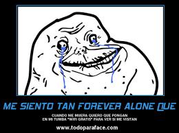 Meme Forever Alone - meme forever alone chistoso para facebook wifi gratis imagenes