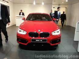 bmw one series india 2016 bmw 1 series facelift launched in india