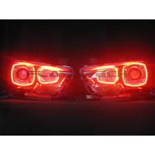 2014 Dodge Charger Tail Lights Dodge Charger V 3 Fusion Color Change Led Halo Headlight Kit 2011