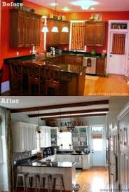 How To Makeover Kitchen Cabinets How To Paint Your Kitchen Cabinets Builder Grade Kitchen And