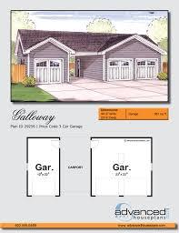 traditional garage plan galloway