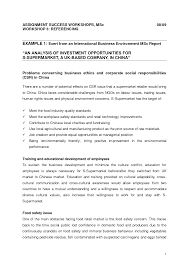 assignment report template business report exles free fieldstation co