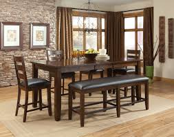 Black Leather Chairs And Dining Table Dining Room Attractive Design For Dining Room Decoration With