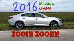 mazda zoom zoom zoom 2016 mazda6 review youtube