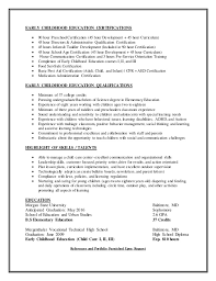 Childcare Worker Resume Child Care Resume Resume Recreation Therapist Child Development