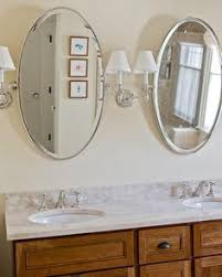 Oval Mirrors For Bathroom Bathroom Oval Mirrors Sconces Design Pictures Remodel Decor