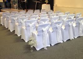 White Banquet Chair Covers Wedding Chair Cover Hire Surrey Wedding Chair Cover Hire