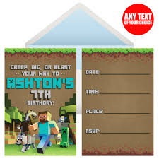 minecraft birthday party supplies party supplies canada open a party