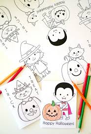 printable halloween coloring books 30 days of halloween 2016 day 20