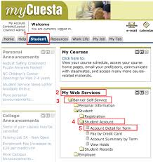 find college classmates how to find your student account number