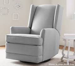 Rocking Recliner Chair For Nursery Beautiful Living Room Modern Wingback Swivel Glider Recliner