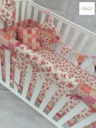 Shabby Chic Floral Bedding by Shabby Chic Floral And Patchwork Cot Bedding Set India Rose Baby