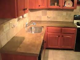 How To Remove A Kitchen Countertop - how to build a concrete countertop diy youtube