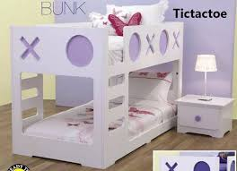 Tic Tac Toe Single Low Line Bunk Bed Bambino Home - Lo line bunk beds