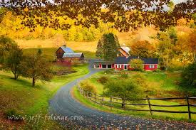 Vermont travel blogs images Pomfret vermont farm in autumn new england travel blog jpg