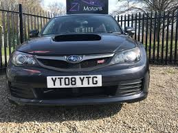 subaru hatchback used 2008 subaru wrx sti 2 5 impreza type uk hatchback remapped